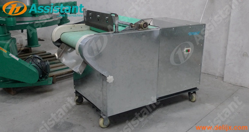 Fresh Big Green Tea Leaf Cutting Machine, Machine For Cutting Lotus Tea Leaf DL-6GCQ-50