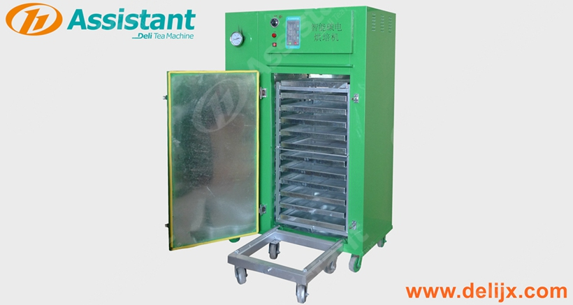 Black Tea Leaf Dryer Baking Machine Tea Drying Oven 6CHTD-3F
