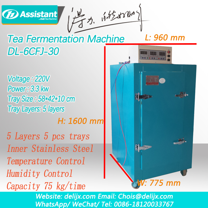 Black Tea Dark Tea Oxidation Machine, Tea Leaf Fermenting Fermentation Ferment Machinery