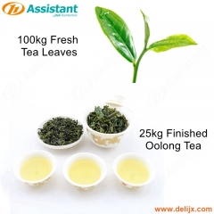 25kg Balled Granular Finished Oolong Tea Tieguanyin Tea Processing Machine