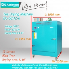 Green Tea Leaves Mini Small Dryer Machine Tea Processing Machine 6CHZ-6