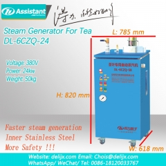 Tea Leaf Steamer Steaming Machine 6CZQ-24