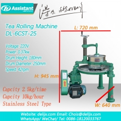 DL-6CRT-25 Orthodox Tea Rolling Machine Kawasaki Tea Roller Machine