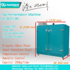 Black Tea Processing Fermation Fermentation Machine 6CFJ-80