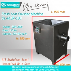 Ivan Tea Leaf Crusher Crushing Machine